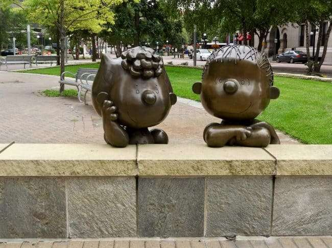 Charles Schultz' Peanuts Statutes - Things to do in minneapolis with kids