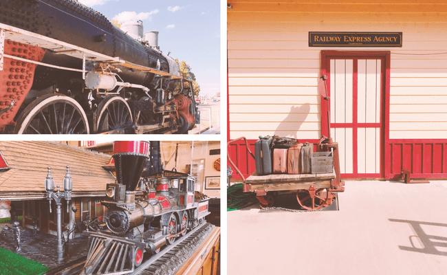 1892 Train Depot Replica