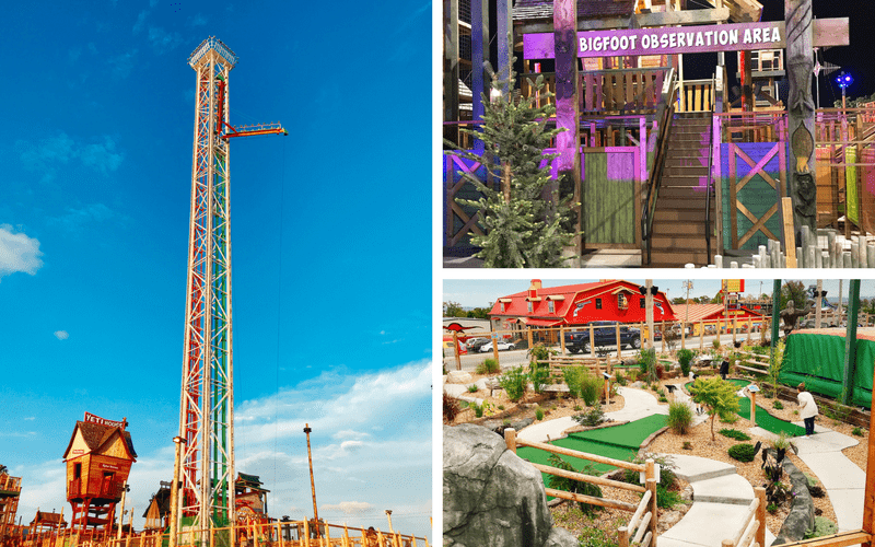 Bigfoot on the Strip - 10+ Fun Things to Do in Branson MO with Kids - Popular attractions, shows, and activities for your next family vacation