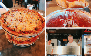 For your Weekend Getaway in Oklahoma for Families (South-Central Oklahoma), visit local DiCintio's Pizza Cucina for New York style pizza