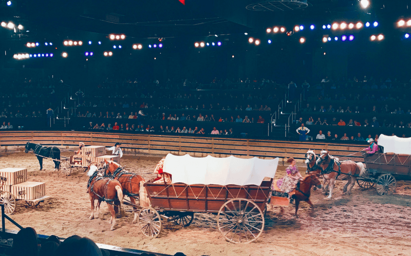 Dixie Stampede - 10+ Fun Things to Do in Branson MO with Kids - Popular attractions, shows, and activities for your next family vacation