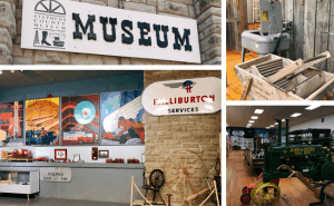 Rediscover history at teh Stephens County Museum during a Weekend Getaway in Oklahoma for Families (South-Central Oklahoma)