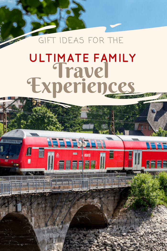 Get the Ultimate list  of Family Experiences Gifts  to Give This Year - Image their excitement at seeing polar bears, be a train conductor for the day, visit a dude ranch, and more.  #familygift #holidaygift #experiencegifts #notstuff #giftguide