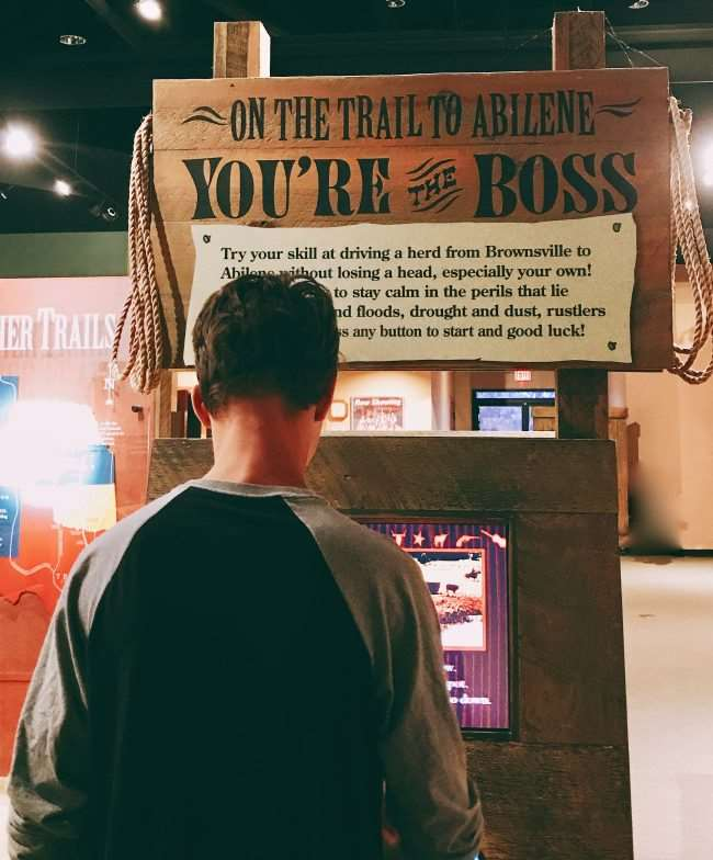 Chisholm Trail Museum interactive center