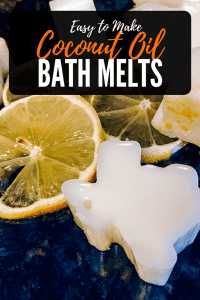 Keeping Skin Soft With Coconut Oil Bath Melts - Easy to create bath melts that help soften skin.