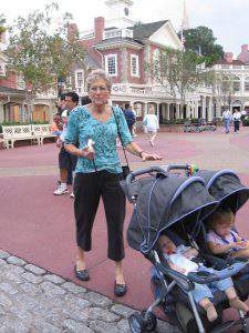 Kids in a Stroller at Magic Kingdom - Talking Tweens to a Disney Park is very Different than taking Toddlers or Young Children