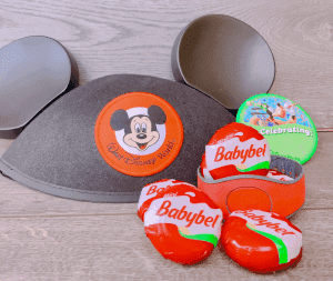 Mini Babybel cheese is a great park snack - Going to Disney with a Tween or Teen? Here are a Few Tips on What to Bring Along to a Disney Park.