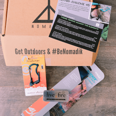 Adventurers Can't Wait for this Nomadik Outdoor Subscription Box to Arrive
