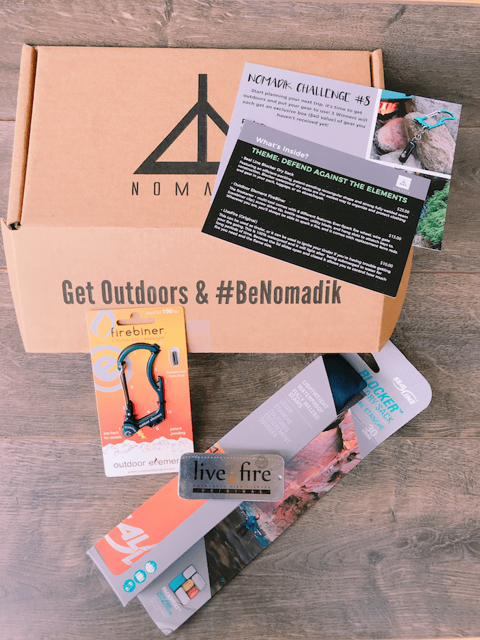 Nomadik Outdoor Gear Subscription Box