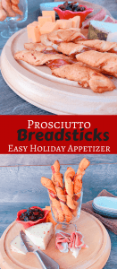 Prosciutto Breadsticks - My Go-To For An #ImmaculateBaking Holiday Appetizer