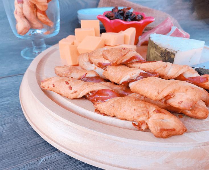 Prosciutto Wrapped Breadsticks