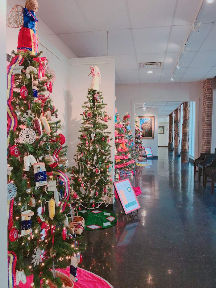Red Earth Art Center TreeFest - Heading to OKC for a Weekend of Winter Family Fun
