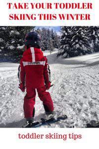 Take Your Toddler Skiing this Winter