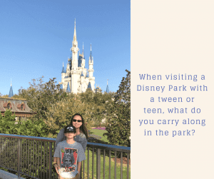 Tips on What to Bring Along to a Disney Park. good book.
