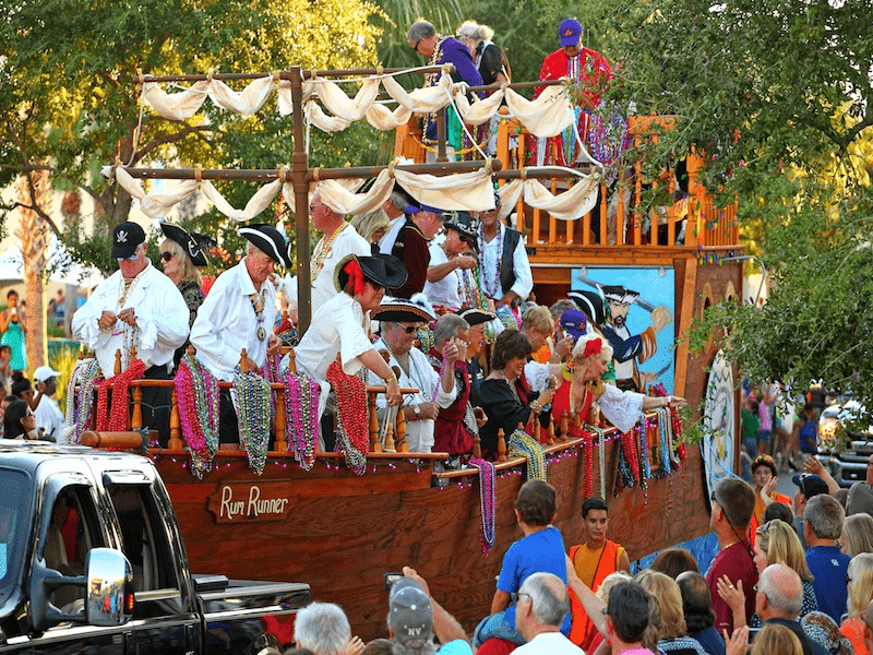 pirates parade - Looking for kid-friendly things to do in PCB? Then getaway to Panama City Beach. There are great events for every Season