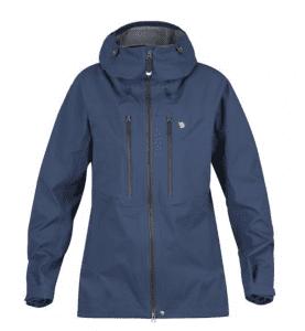 Blue softshell jacket - Fjallraven Bergtagen Eco Shell