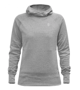 Grey hoodie from Fjallraven