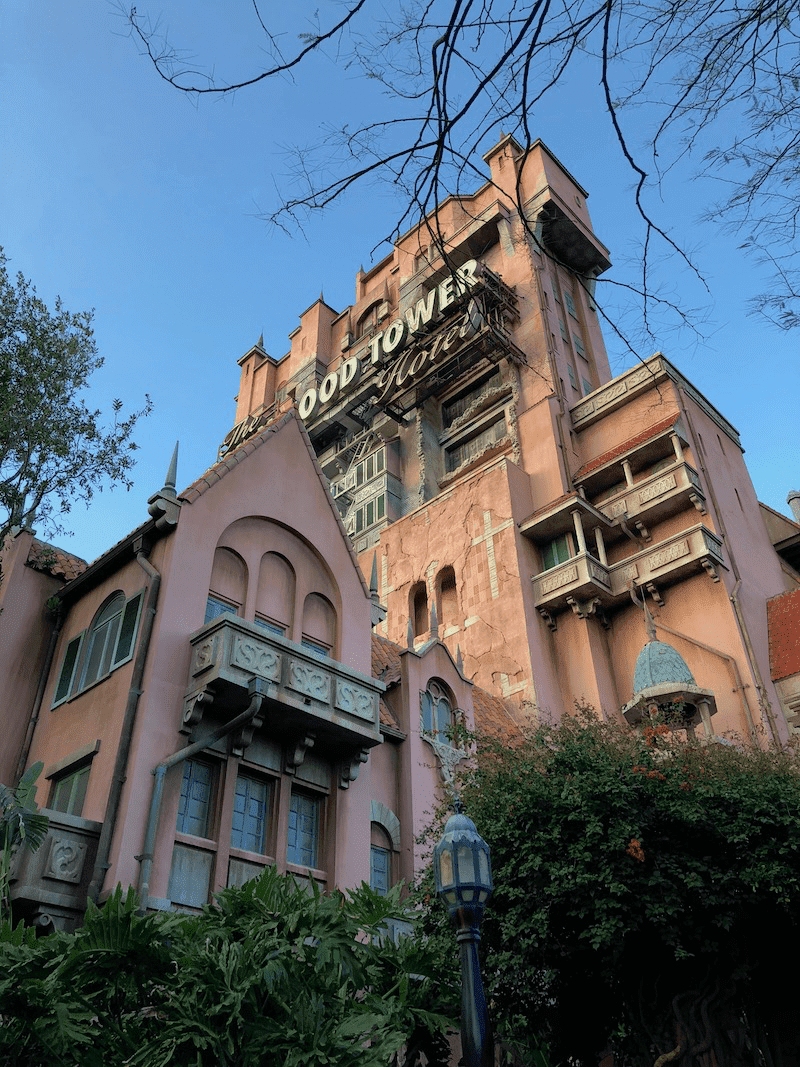 Hollywood Tower of Terror ride