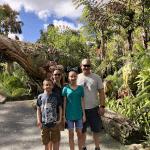 Family in a green landscape - Disney's World of Avatar - Pandora