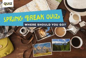 Spring Break Quiz Graphic