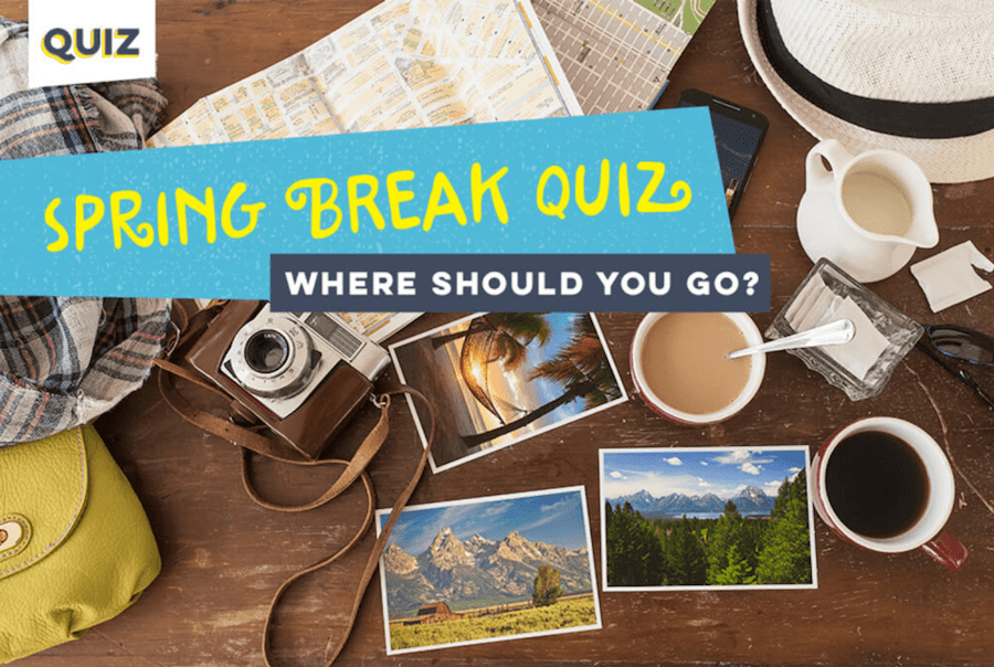 Spring Break Quiz Graphic