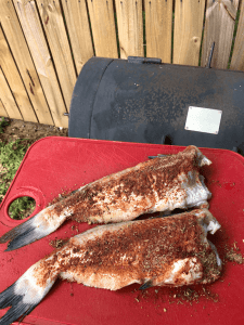 How to Grill Catfish - Here is a recipe for Blackened Grilled Catfish. Great alternative to fried catfish that can be made on a BBQ, over a campfire, or in a cast iron skillet