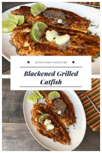 Blackened Grilled Catfish -