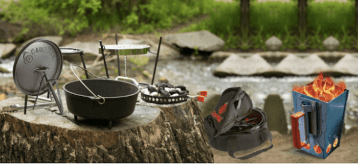 CampMaid Dutch Oven Set