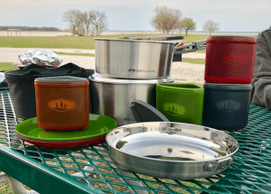 GSI Outdoors Glacier Stainless Steel Camper cookware