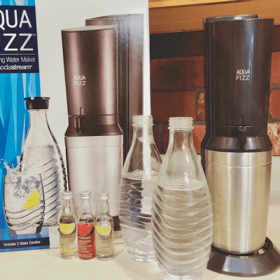 How to Make Carbonated Water with SodaStream AquaFizz  + Giveaway