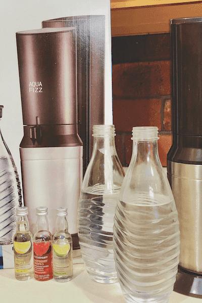 SodaStream AquaFizz home sparkling water kit