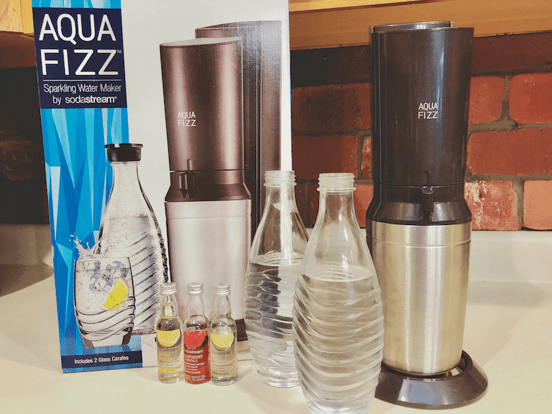 How To Make Carbonated Water With Sodastream Aquafizz Little