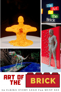 Art of the Brick Exhibit