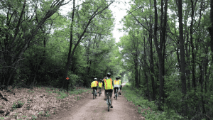 Cycling the Great River State Trail