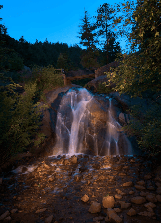 Helen Hunt Falls, Hiking Colorado, waterfall
