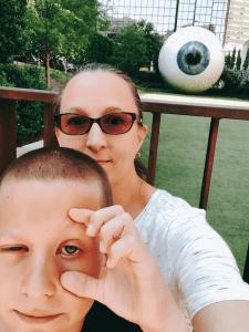 Eye Sculpture, Joule Hotel Dallas