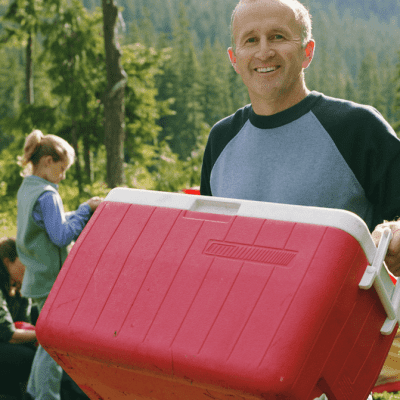 Keep Food Cooler and Prevent It Going Soggy While Camping