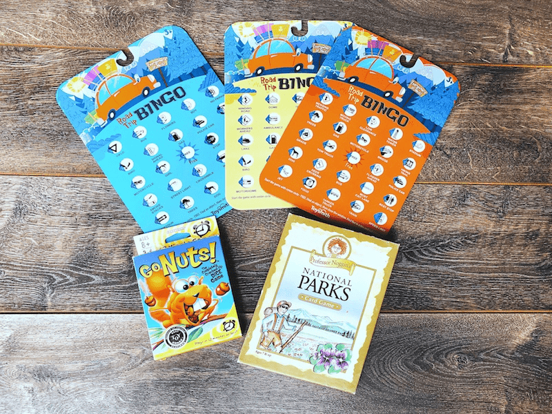 travel bingo and other travel games