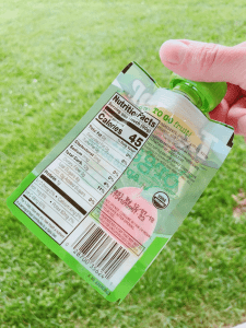 Tree Top Apple Sauce Clear Pouch