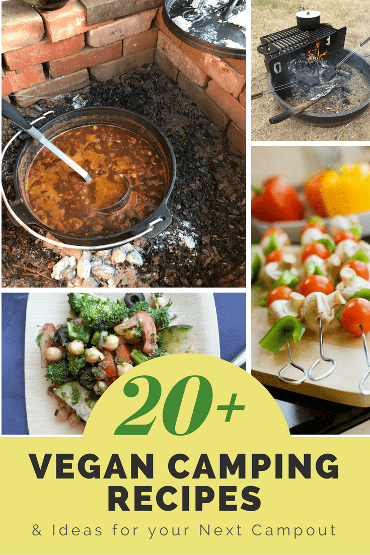 vegan camping recipes and ideas for your next campout