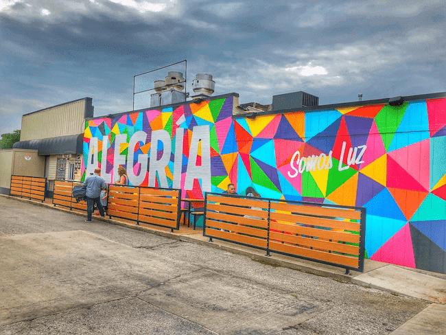 Alegria - OKC Art Murals