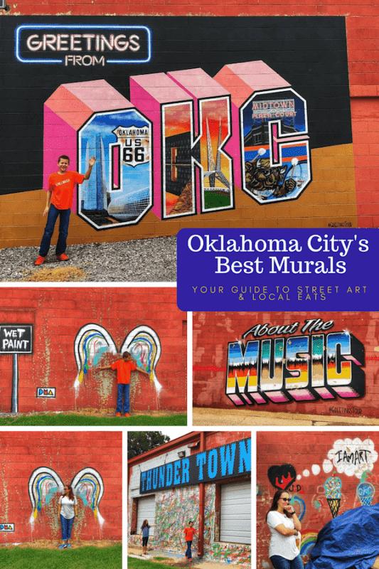 Best OKC Murals - Plaza Walls OKC