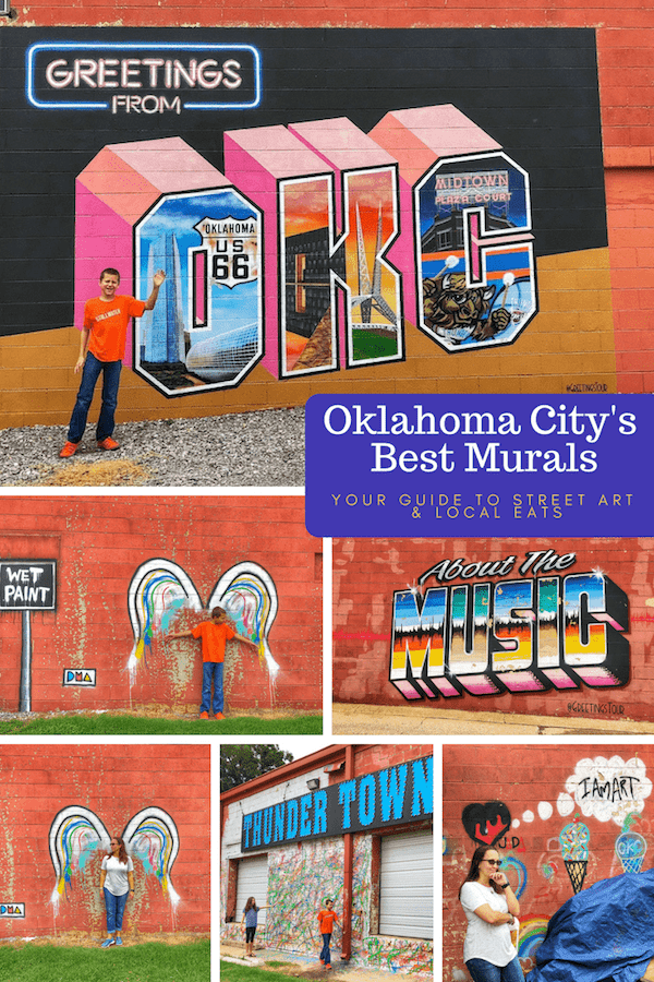 Best OKC Murals - Plaza Walls OKC