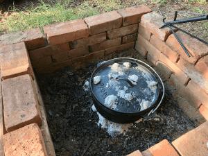 Easy Taco Soup Recipe for outdoor dutch oven