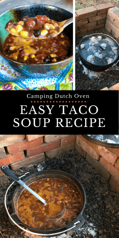 Easy taco soup recipe with ranch dressing