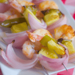 Garlicy Grilled Shrimp Kabobs