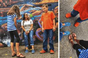 Keen Sandals, OKC murals