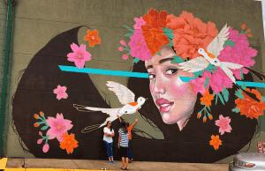 OKC Murals - Fortune Favors The Brave