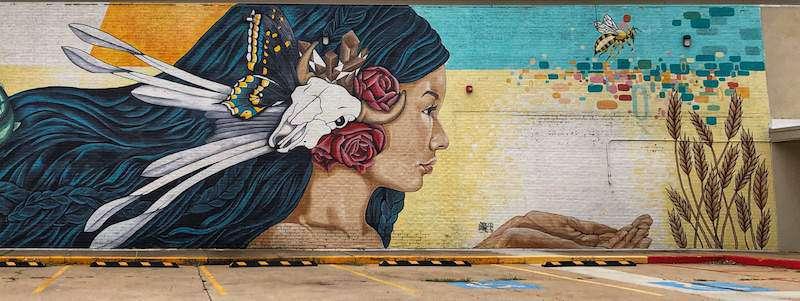OKC Murals - Oklahoma Aiukli