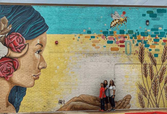 Oklahoma Aiukli - OKC Murals